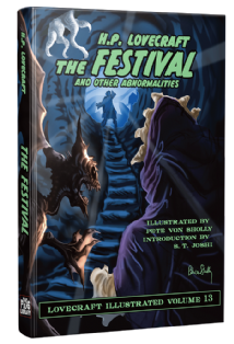 The Festival and other Abnormalities - Vol13  [hardcover] by H. P. Lovecraft
